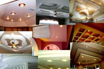 Потолоки из гипсокартона